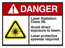 classe laser IIIb