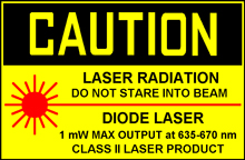 classe laser II